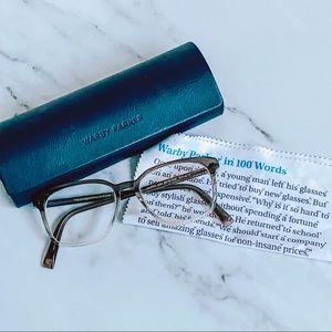Warby Parker Dawes Glasses and Case